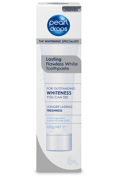 Pearl Drops Lasting Flawless White Toothpaste 120g